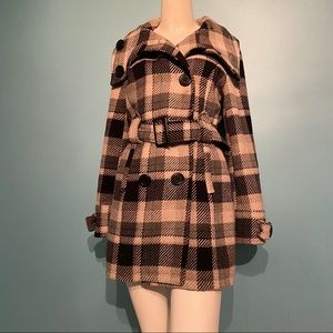 Kismet plaid coat